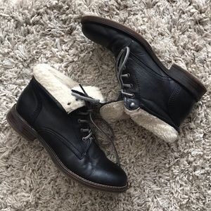 San Marina (bought in France) leather lined boots
